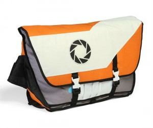 Portal 2 Messenger Bag – Perfect for holding your laptop… or cake.