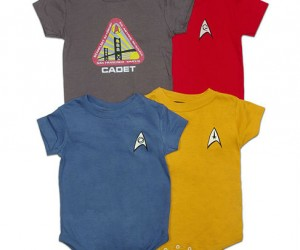 Star Trek Onesies – Baby Shatner was born to trek!