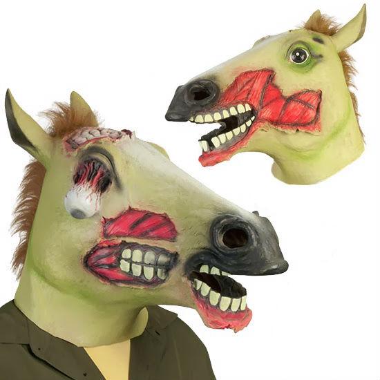 zombie horse head mask