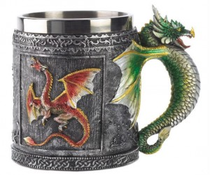 The Dragons are coming, but in the meantime, why not enjoy your coffee!