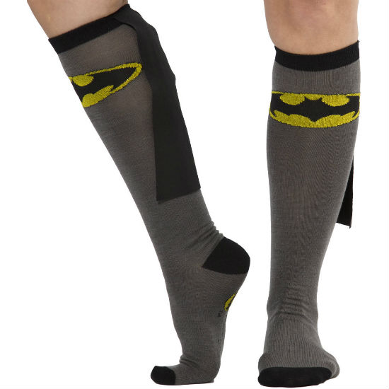Knee High Caed Batman Socks
