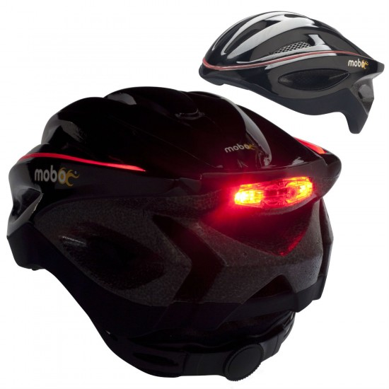 LED bike helmet