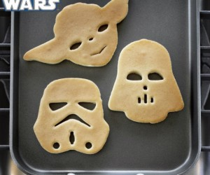 Star Wars Pancake Molds – On a griddle in a galaxy far far away…