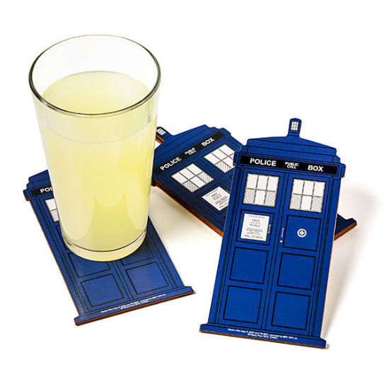 TARDIS Coasters
