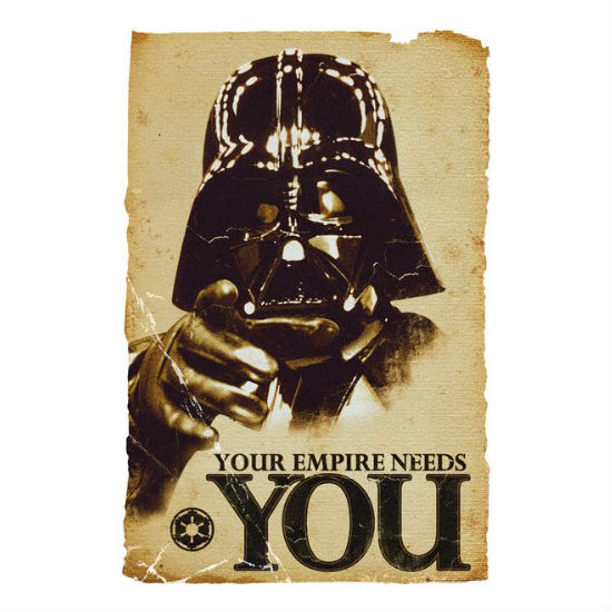 The empire needs you poster