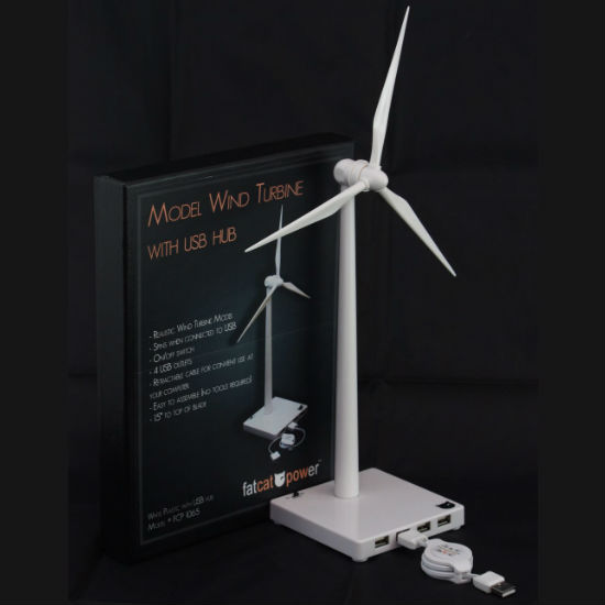 USB wind turbine