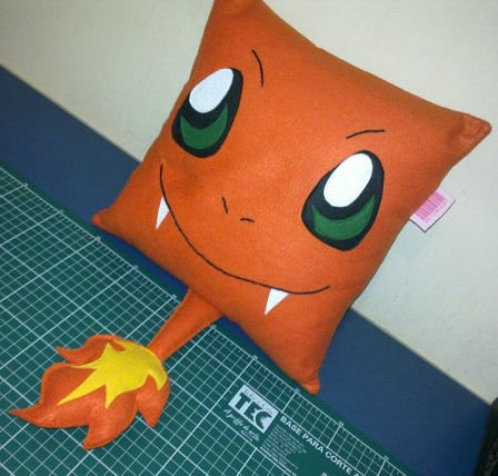 charmander pillow