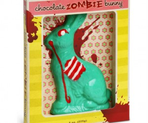 Zombie Chocolate Easter Bunny – 8oz worth of zombie bunny goodness!