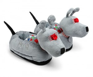 Doctor Who K9 Slippers – Perfect for keeping your feet warm whilst watching Doctor Who marathons!