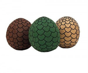 Game of Thrones Dragon Egg Plushies  - Like real dragon eggs only softer and more cuddly.