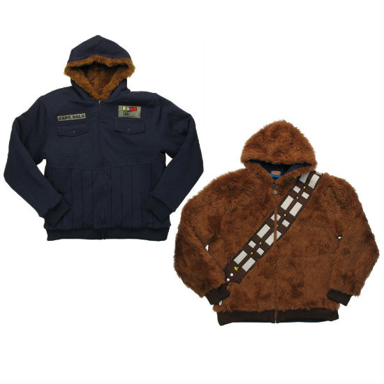 han solo chewbacca reversible