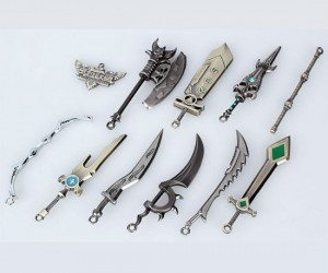 League of Legends 10 Piece Characters Weapons Set – You'll have no problem defending your nexus with these bad boys.