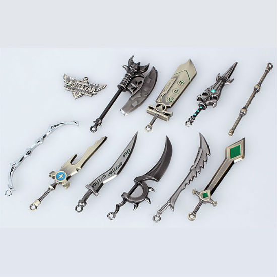 leauge of legends character weapons