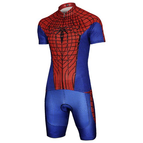 spiderman cycling jersey