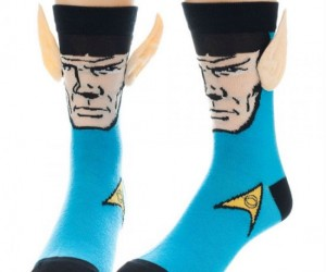 Spock Socks – Now your socks will really stand out! (Just like those ears)