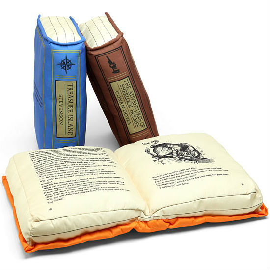 Olde Book Pillows