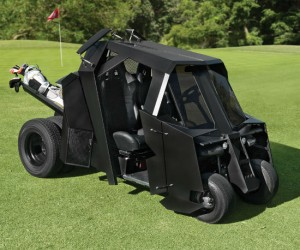 Batman Batmobile Golf Cart – Be the hero the golf course deserves…