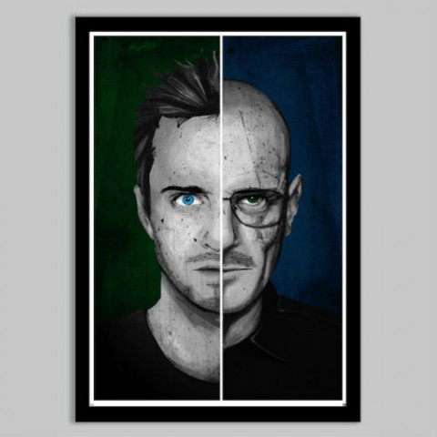 jessie walter breaking bad poster