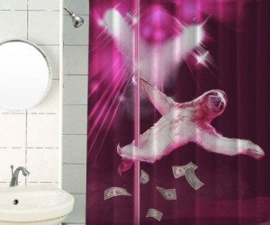 Make it rain as stripper sloth slowly makes it down the pole!