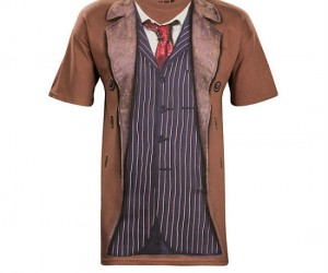 Doctor Who The 10th Doctor Tee – With this shirt on you'll look at good as David Tennant!