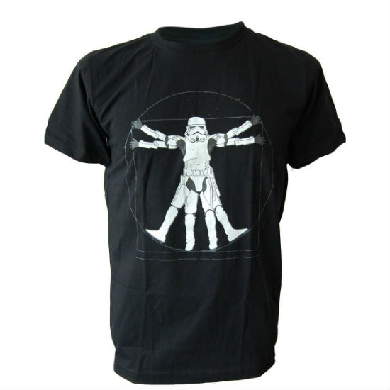 vitruvian stormtrooper tee