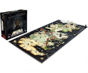 Game of Thrones 3D Puzzle – Brace yourself, frustration is coming