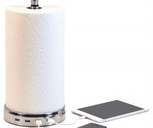 Great for when you're in the kitchen all day preparing a big meal and need to charge your devices!