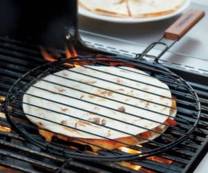 Your barbecue doesn't have to be all about burgers and dogs, try a grilled quesadilla!