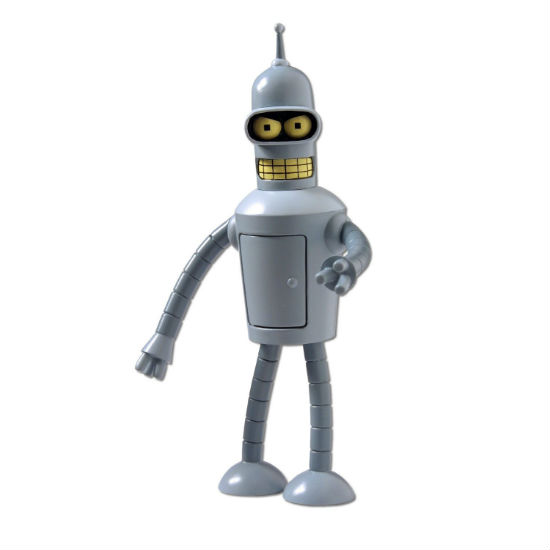 bender talking action figure