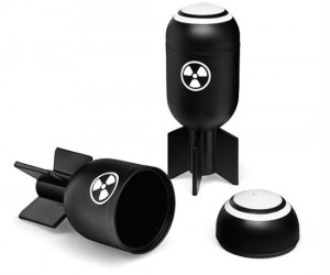 Bombs Away shot glass set – Mutually assured consumption!