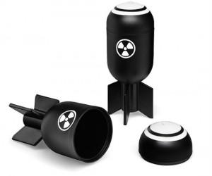 Bombs Away shot glass set – Mutually assured consumption!