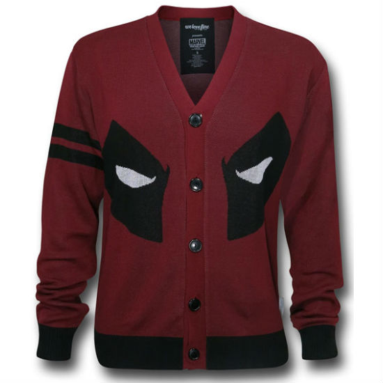 deadpool cardigan