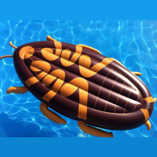 giant cockroach pool float