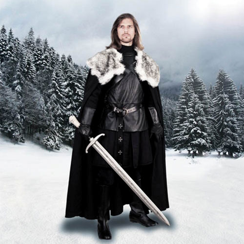 jon snow cape