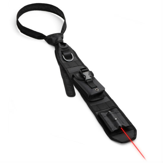 laser guided tactical necktie