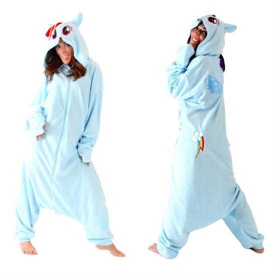 rainbow dash adult onsie