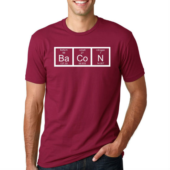 the chemistry of bacon tee
