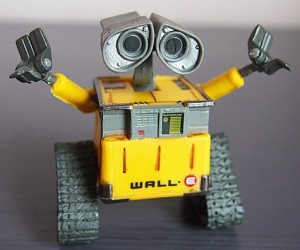 WALL E Action Figure – You'll love this action figure more than WALL E loves EVE