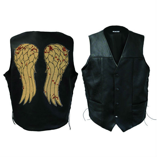 The walking dead daryl dixons winged leather vest