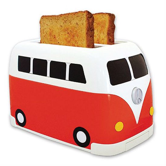 VW camper bus toaster