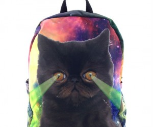 You'll definitely be ready for the school year when galaxy cat has your back!