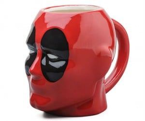 Get Deadpool's ugly mug on your mug