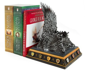 Game of Thrones Bookend – What better to hold the volumes of George R.R. Martin than the Iron Throne itself.