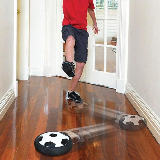 hover soccer disc