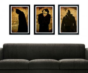 Batman Trilogy Poster Set – The perfect addition to your bat cave !