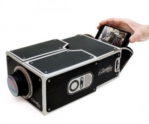 Cardboard Smartphone Projector – Finally an affordable way to project media from your smartphone!