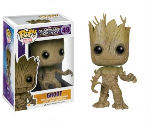 It's not quite a dancing Groot but I guess a bobble head groot is the next best thing.