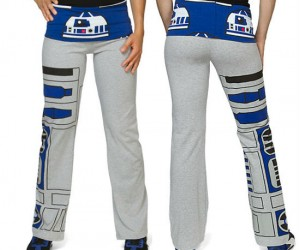 Star Wars R2D2 Yoga Pants – It's time R2 loosened up a bit.