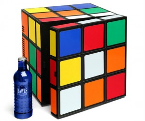 Rubik's Cube Mini Fridge – Not puzzling to see how awesome it is