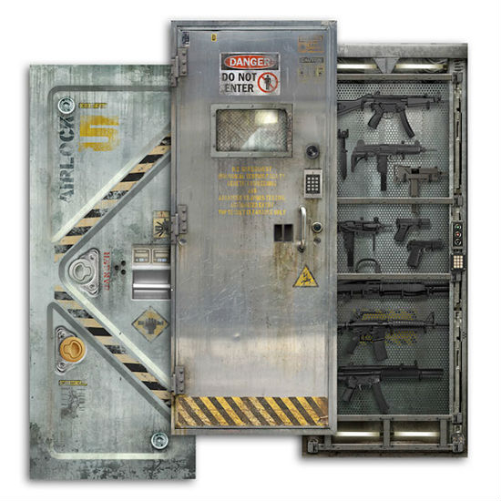 sci fi door decals